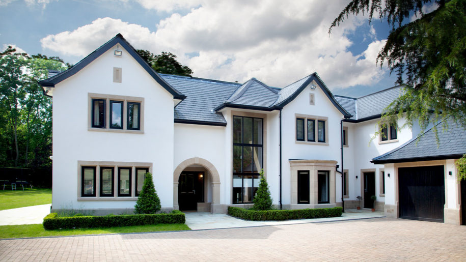 architects Prestbury Collar house drive