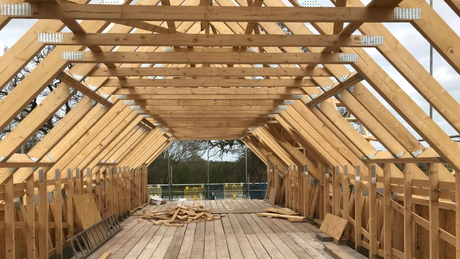 architects Cheshire timber frame roof